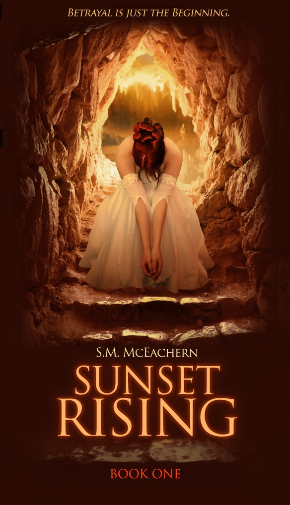 New Sunset Rising bookcover!